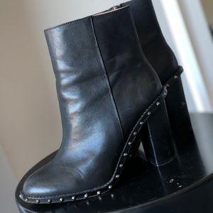 Gianni Bini Black Stud Booties